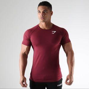 Gymshark T-Shirt - Maroon